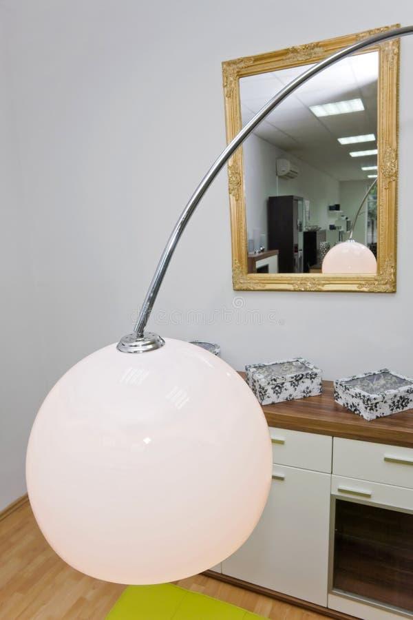 Lámpara del sitio fotografía de archivo libre de regalías