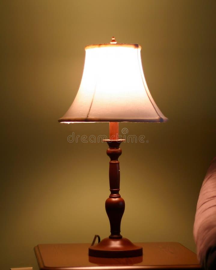 Lámpara elegante foto de archivo libre de regalías
