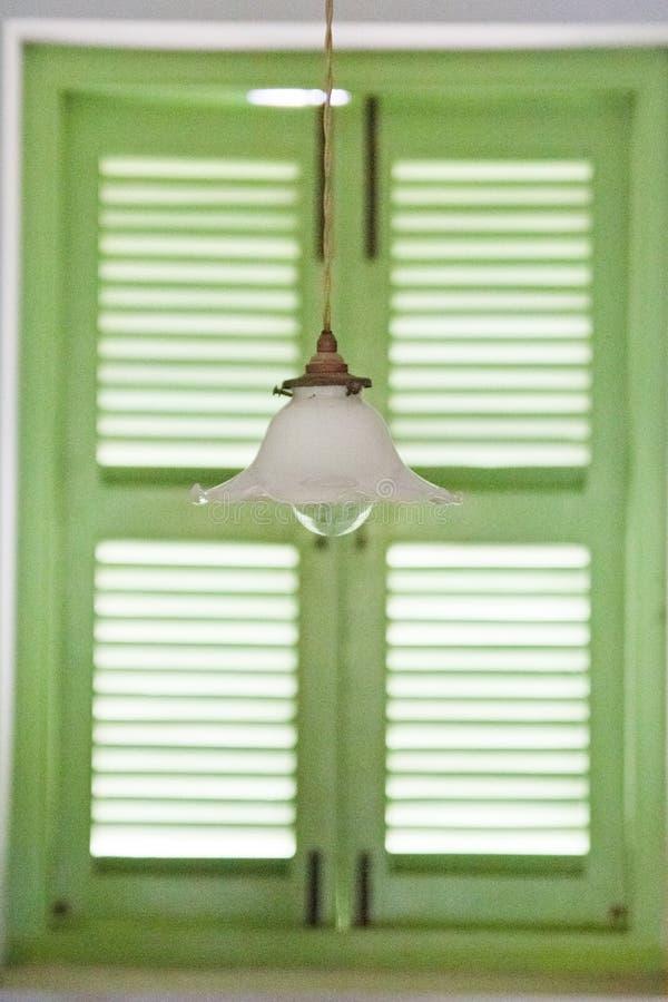 lámpara en casa imagen de archivo libre de regalías