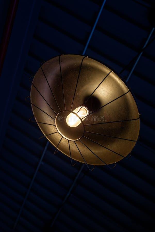 Lámpara industrial fotos de archivo