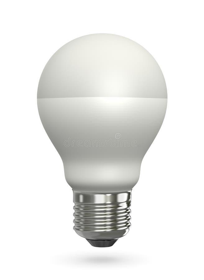 Lámpara llevada ilustración del vector