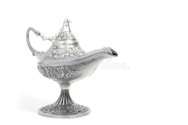 Lámpara mágica de Aladdin imágenes de archivo libres de regalías