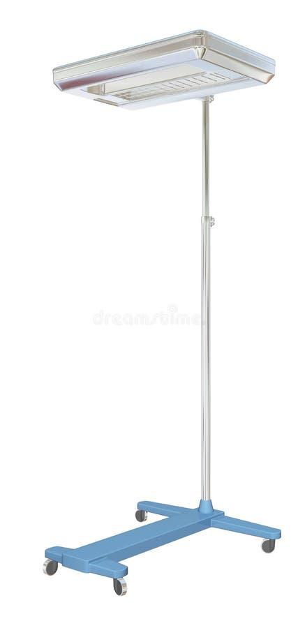 Lámpara móvil del examen médico, ilustración 3D libre illustration