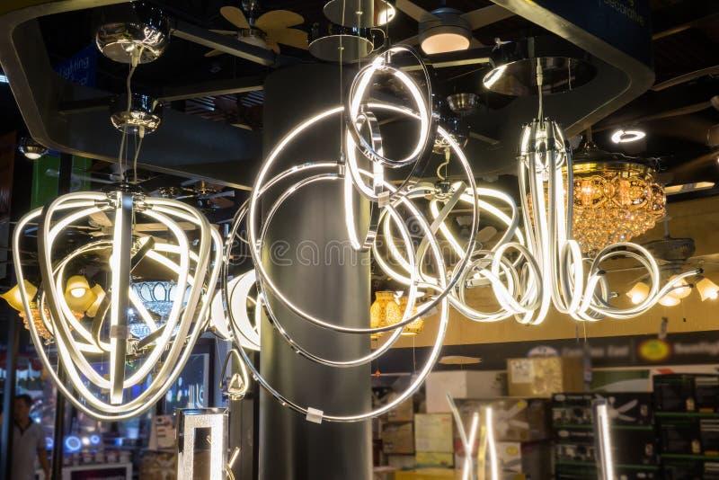 Lámpara moderna imagenes de archivo