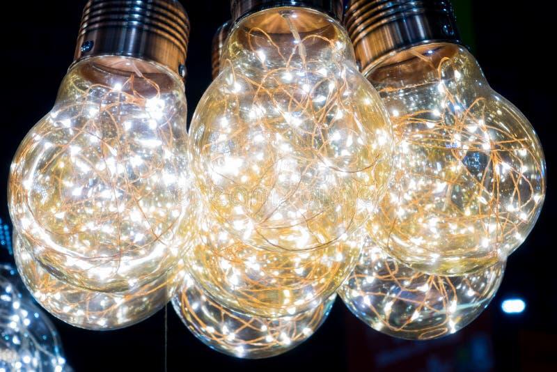 Lámpara moderna hermosa imagen de archivo libre de regalías