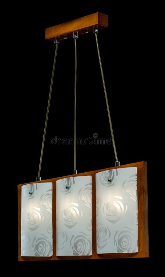 Lámpara Moderna Para La Cocina Aislada En Fondo Negro Foto de ...