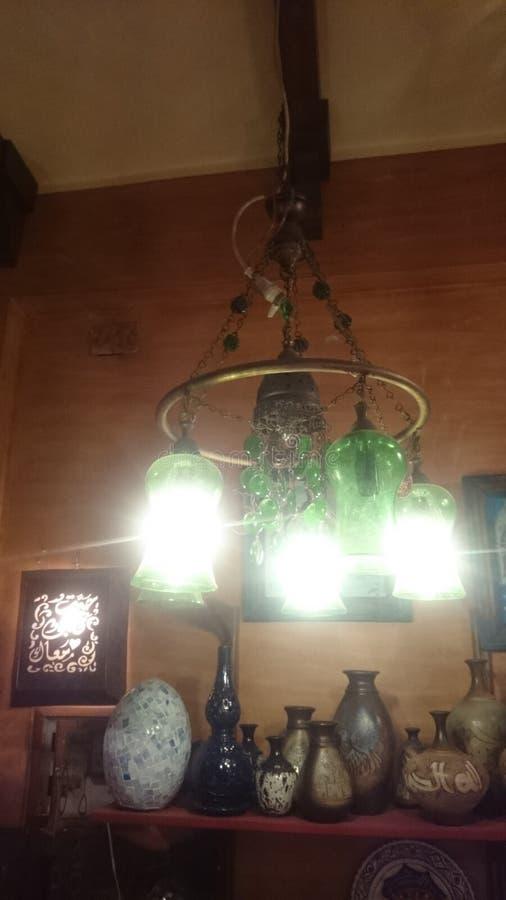 Lámpara oriental imagenes de archivo