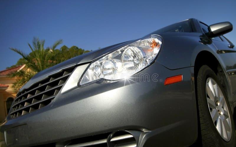 Lámpara principal del coche fotos de archivo