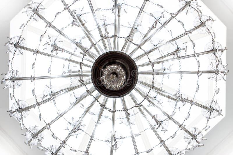 Lámpara según lo visto de debajo fotos de archivo