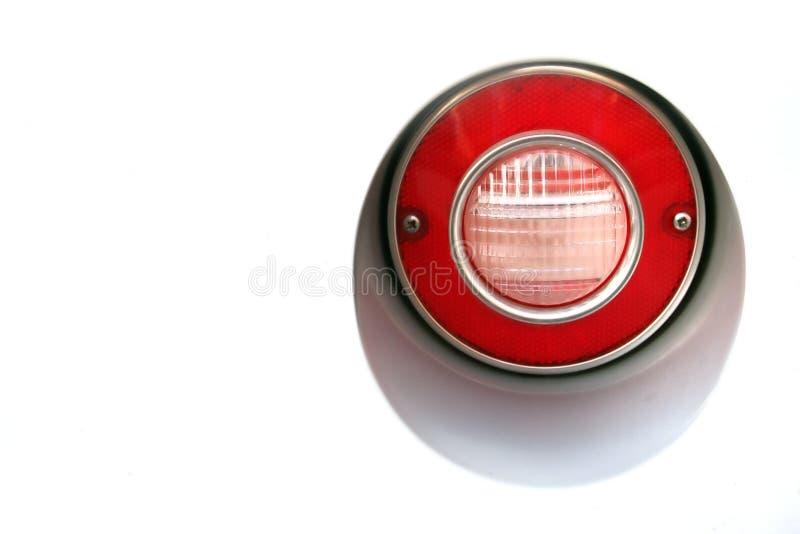 Lámpara trasera del coche clásico imagen de archivo