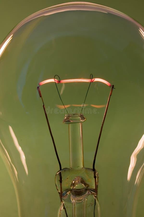 Lámpara verde imágenes de archivo libres de regalías