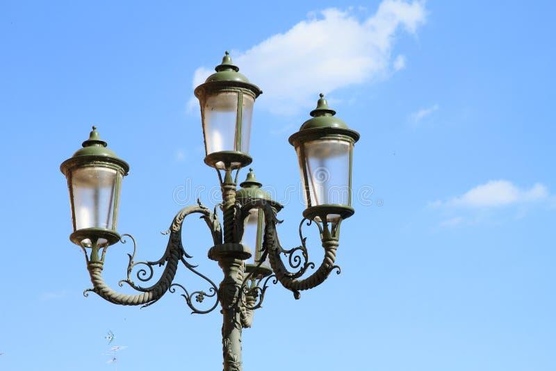 Lámpara verde imagen de archivo libre de regalías