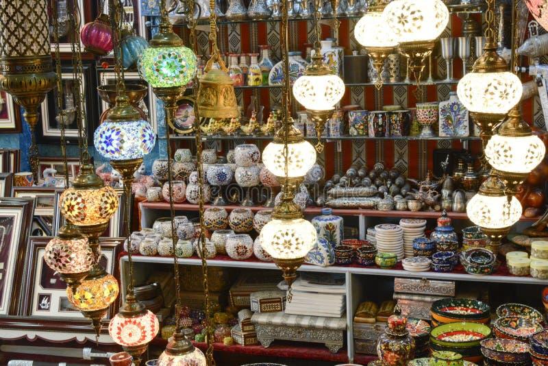 Lámparas árabes fotos de archivo libres de regalías