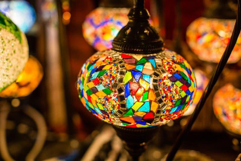 Lámparas árabes foto de archivo libre de regalías