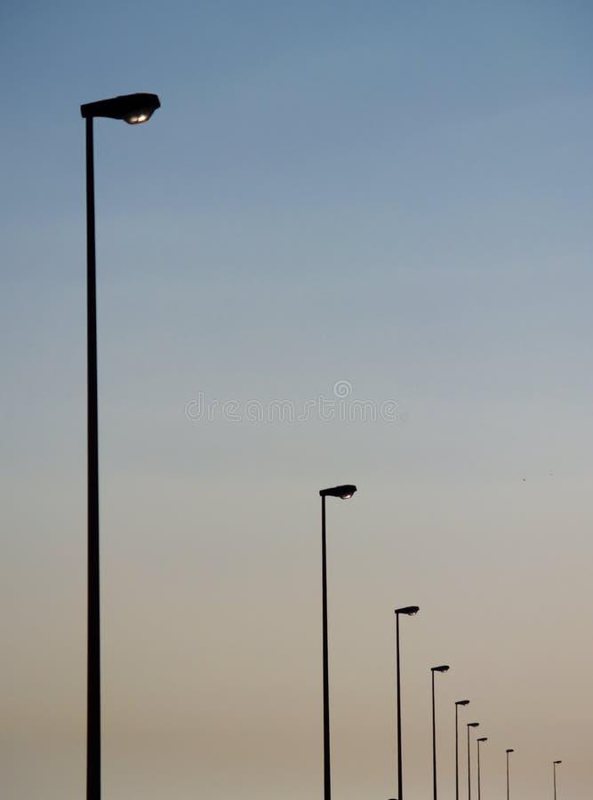 Lámparas de calle imagenes de archivo