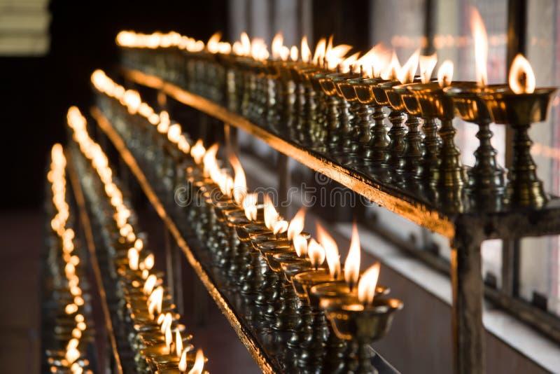 Lámparas de la mantequilla imagenes de archivo