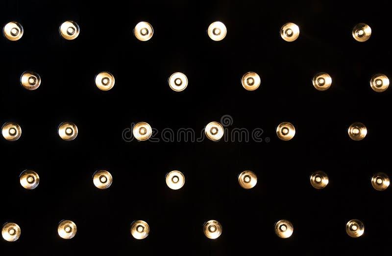 Lámparas de pared en estudios imagenes de archivo