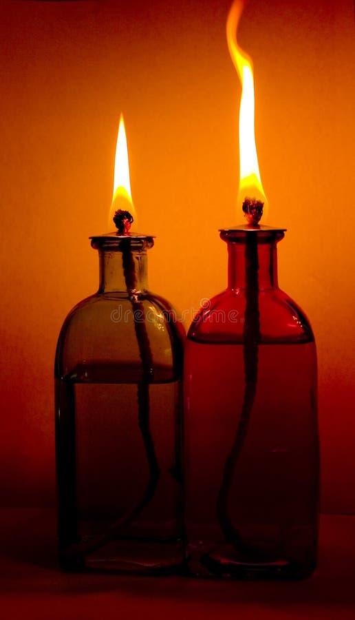 Lámparas de petróleo imagen de archivo libre de regalías