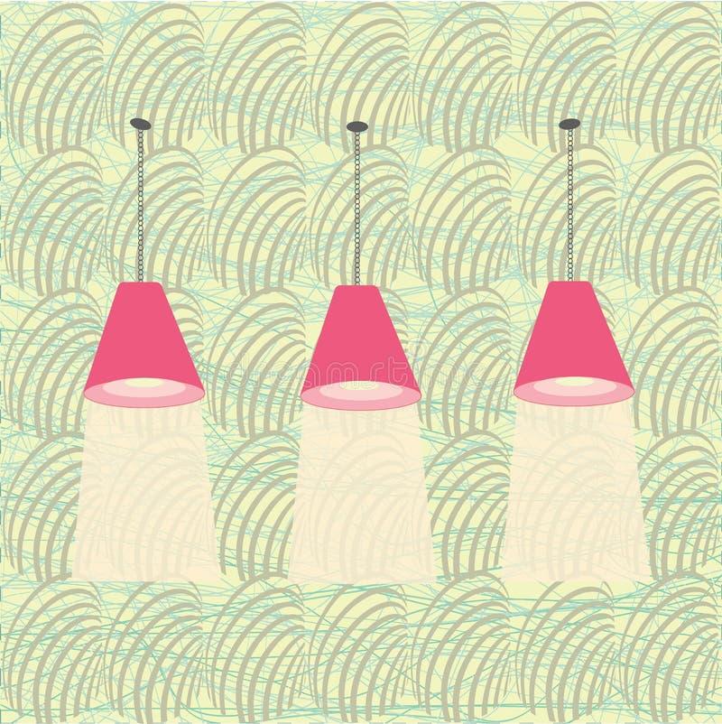 Lámparas modernas imagen de archivo libre de regalías