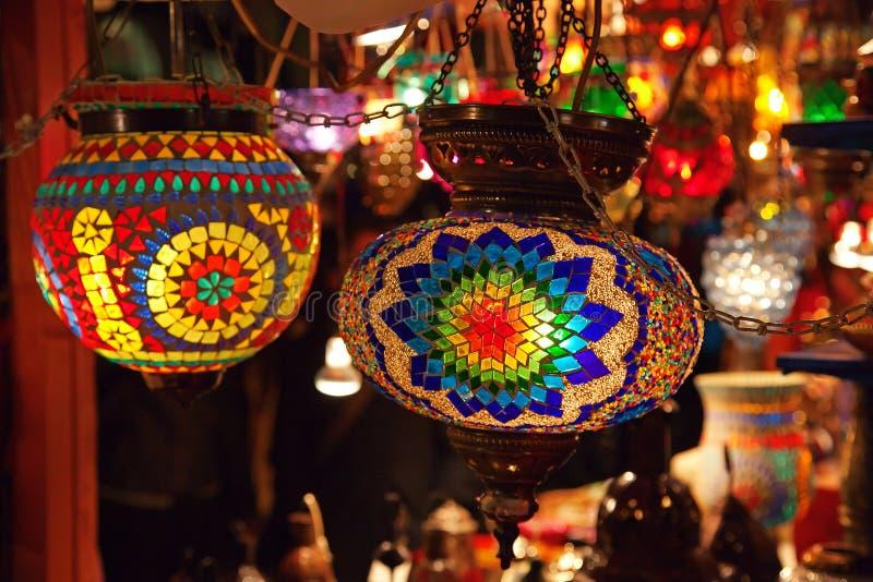 Lámparas Turcas Tradicionales Imagen de archivo libre de regalías