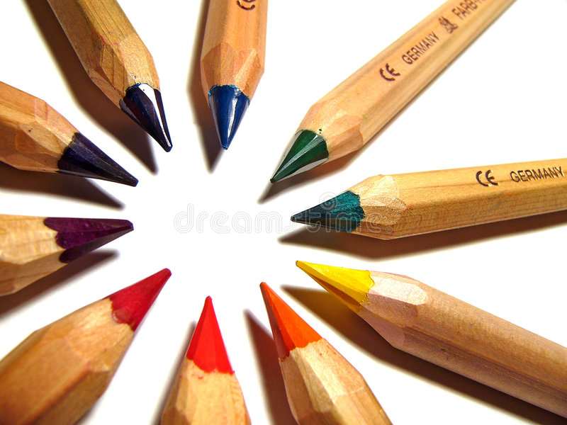 Lápices Imagen de archivo libre de regalías