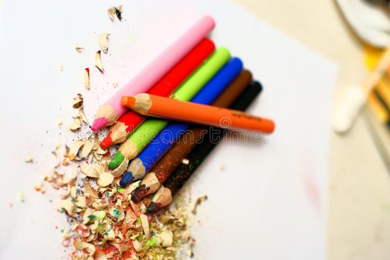 Download Lápices Coloreados Afilados Foto de archivo - Imagen de macro, detalle: 7279674
