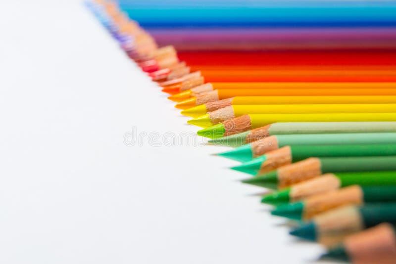 Lápices del color imagen de archivo