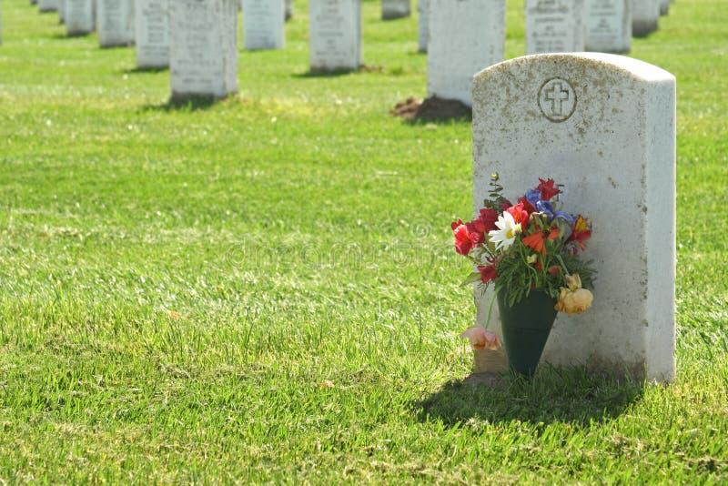 Lápida mortuoria imagen de archivo libre de regalías