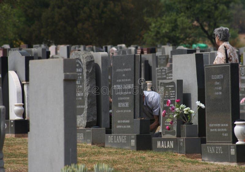Lápidas mortuorias imagen de archivo libre de regalías