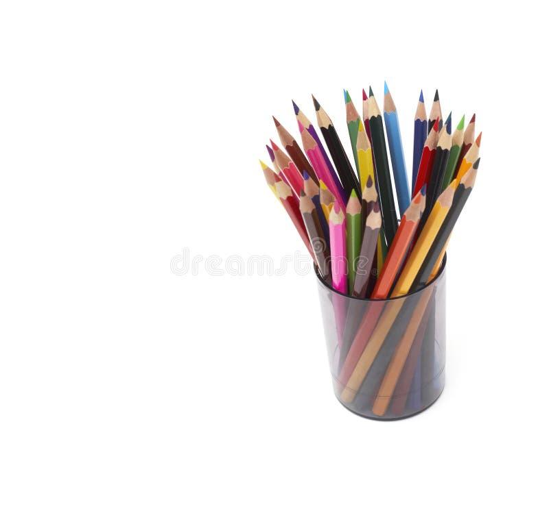 Lápis colorido imagens de stock royalty free