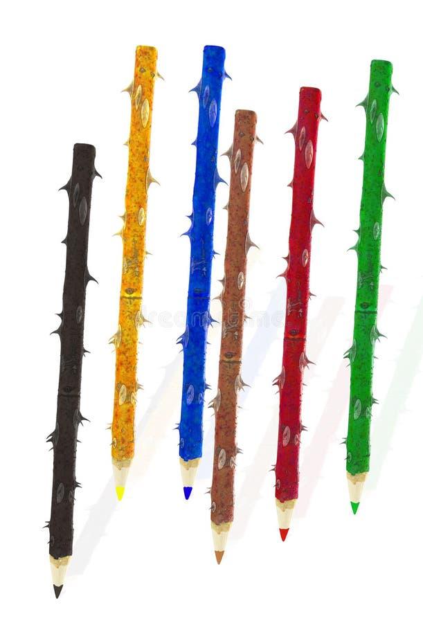 Download Lápis coloridos foto de stock. Imagem de ofício, variedade - 26519278