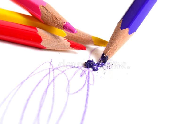 Download Lápis foto de stock. Imagem de pastel, instrução, tração - 29839156