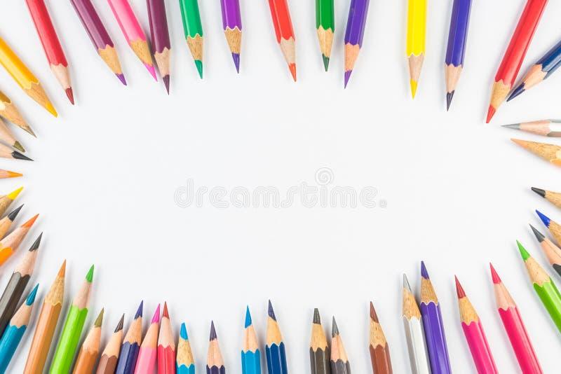 Lápis da coloração fotos de stock royalty free