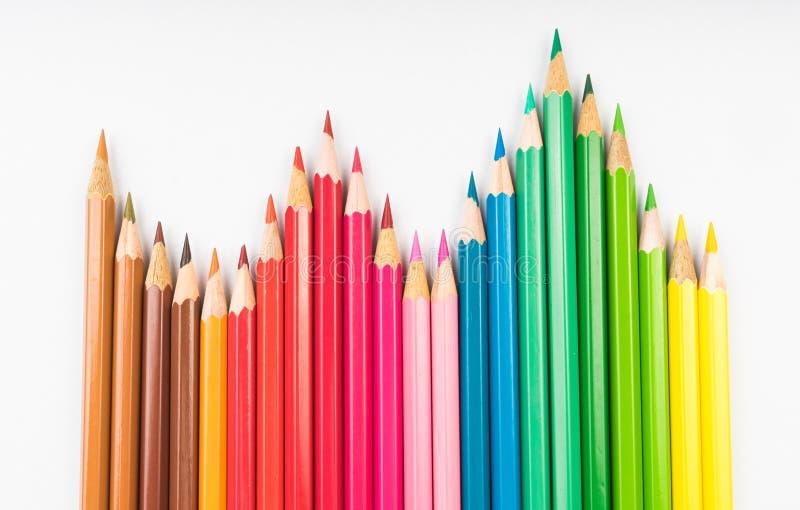 Lápis da coloração imagens de stock