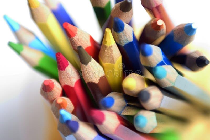 Lápis da cor imagens de stock royalty free