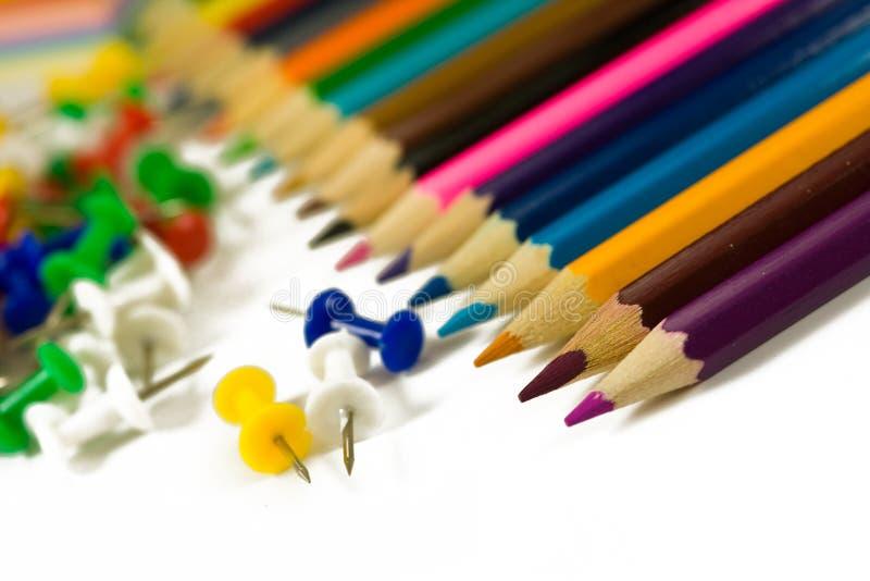 Download Lápis da cor foto de stock. Imagem de jogo, coração, feltro - 12809180