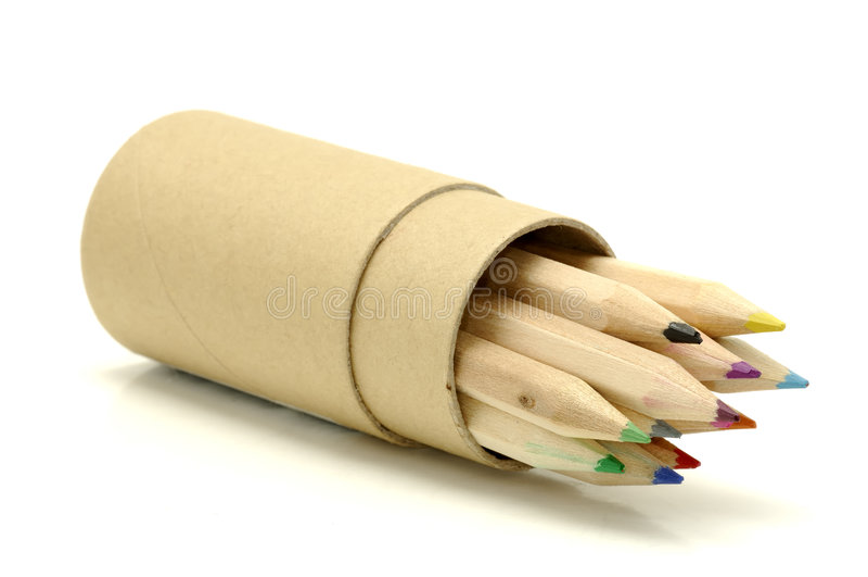 Download Lápis da cor imagem de stock. Imagem de wooden, lápis, escola - 533803