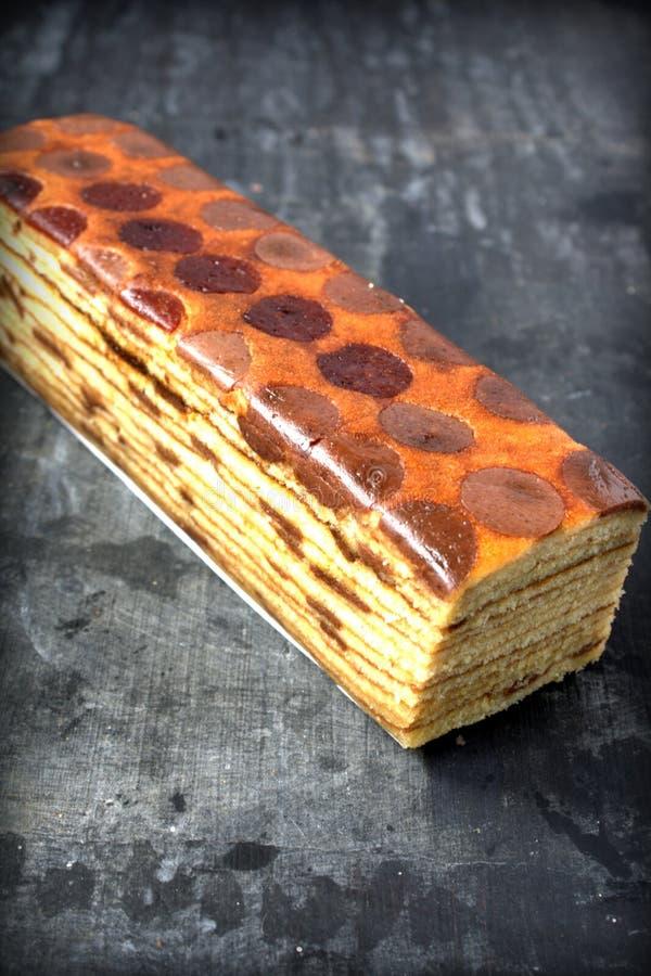 Lápis-lazúli de Kek, sobremesa malaia foto de stock