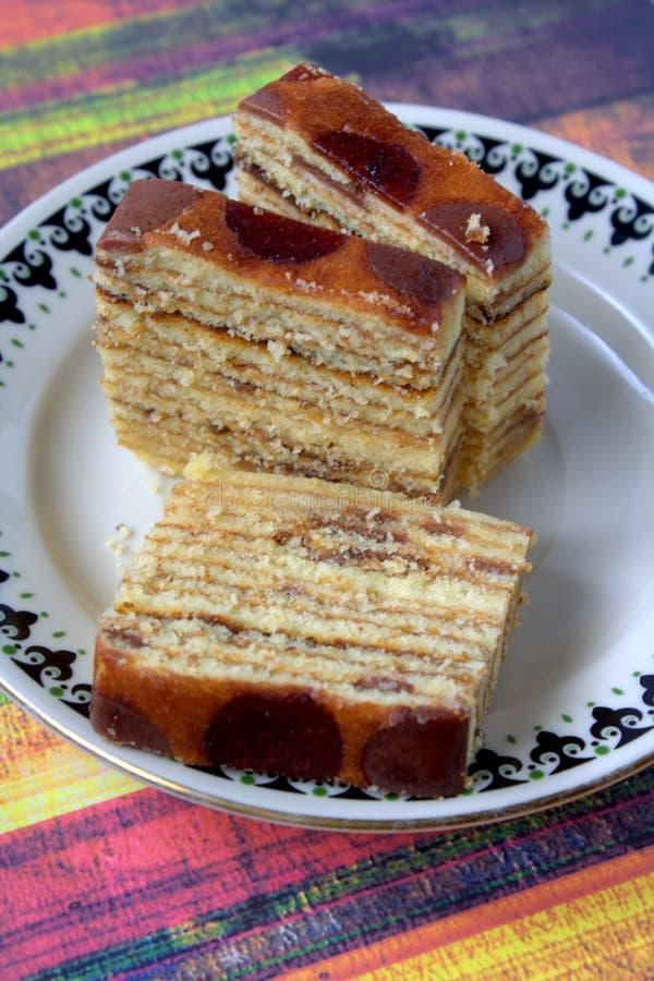 Lápis-lazúli de Kek, sobremesa malaia foto de stock royalty free