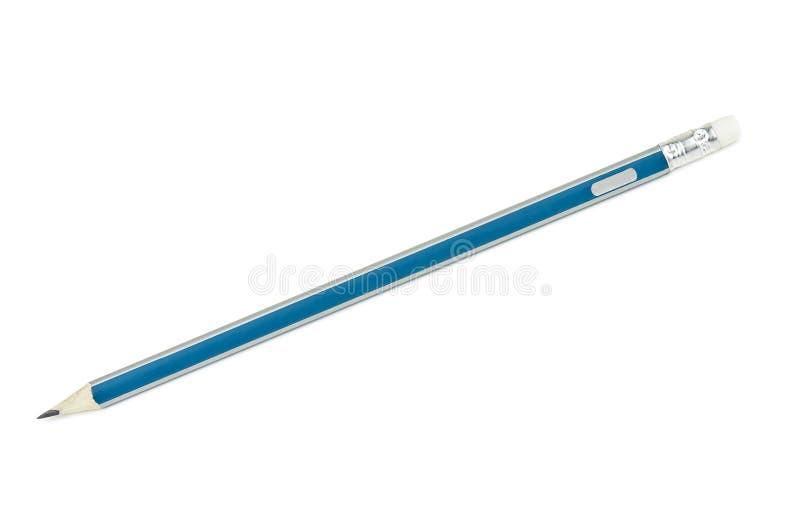 Lápis no branco imagem de stock