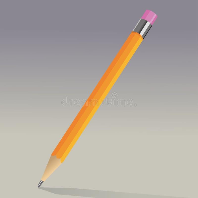 Lápiz ilustración del vector
