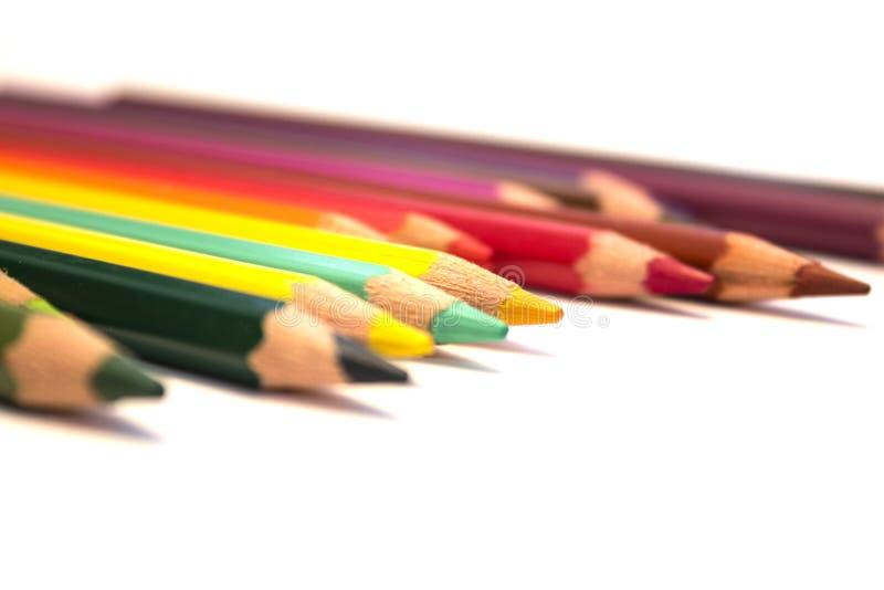 Lápiz coloreado imágenes de archivo libres de regalías