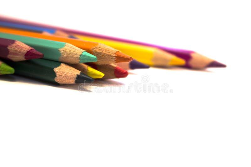 Lápiz coloreado foto de archivo