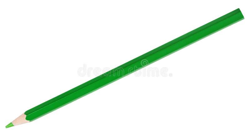 Lápiz verde fotografía de archivo