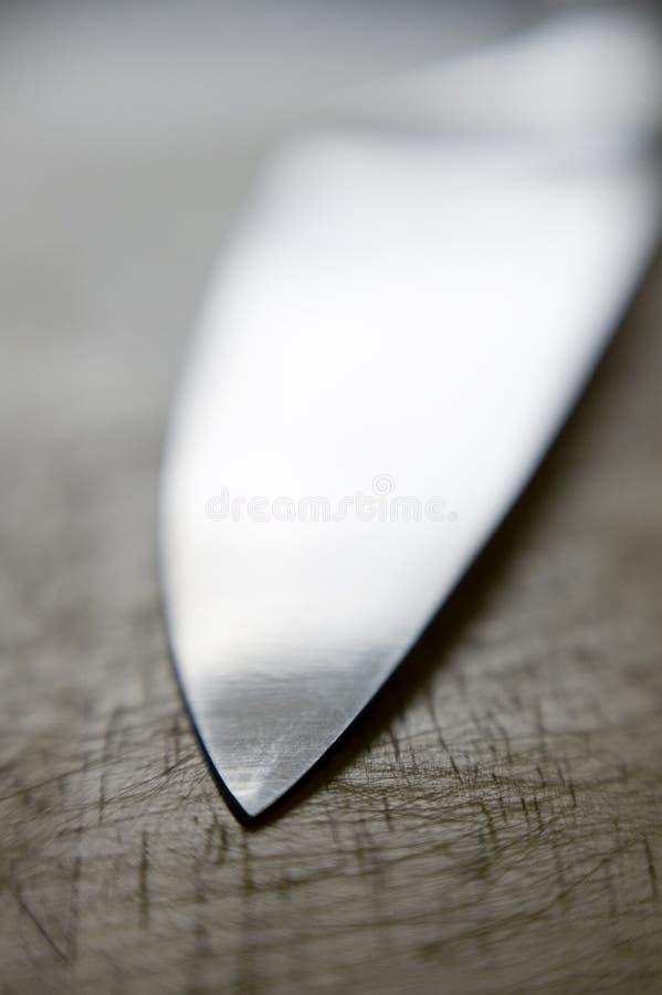 Lâmina de faca fotografia de stock