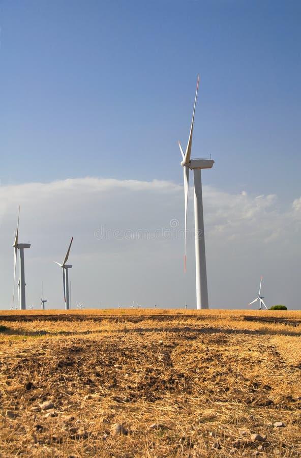 Lâmina do moinho de vento foto de stock