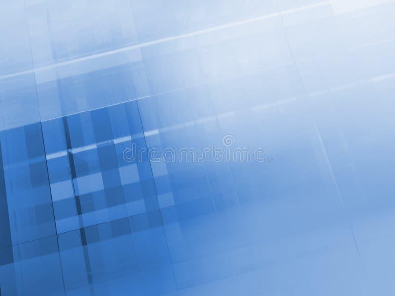 Lâminas do fulgor do traço ilustração stock