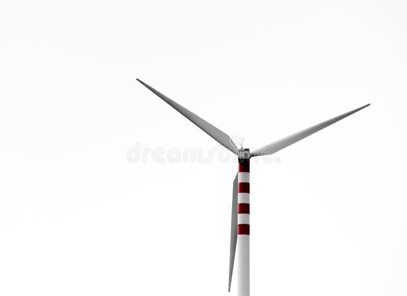 Lâminas do vento em montes doces foto de stock