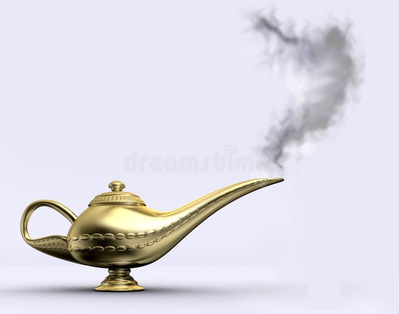 Lâmpada 1 de Aladin ilustração stock