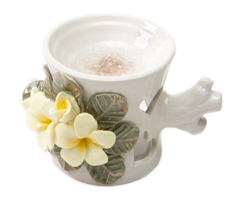 Download Lâmpada aromática cerâmica foto de stock. Imagem de asian - 12810520